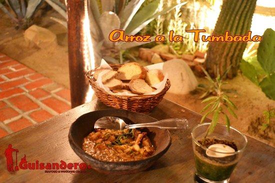 Guisandero Seafood & Woodfire Cocina: Arroz a la Tumbada