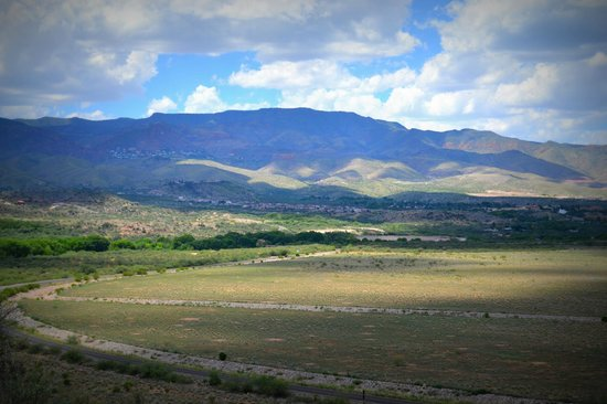 Tuzigoot National Monument : The View from the Top