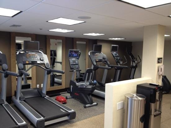 DoubleTree by Hilton Hotel Montgomery Downtown: Fitness Centre/Center