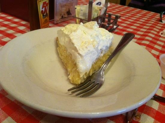 Susie's Branding Iron Restaurant: Home made coconut cream pie