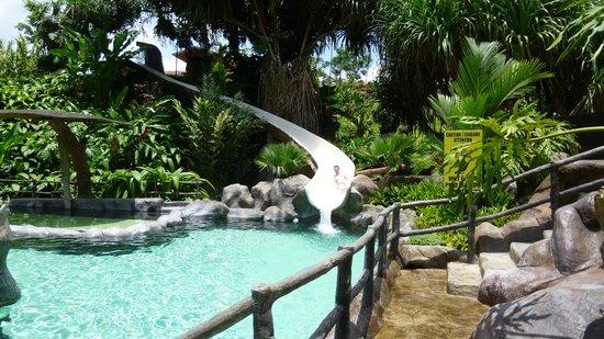 Los Lagos Hot Springs: Waterslide