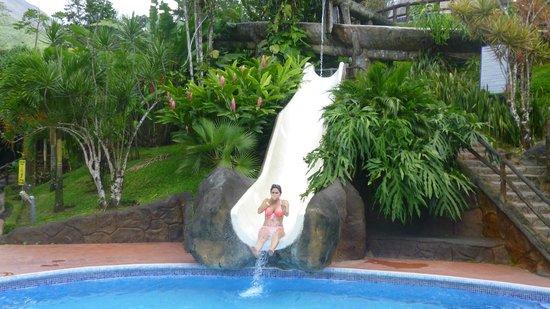 Los Lagos Hot Springs: Water Slide