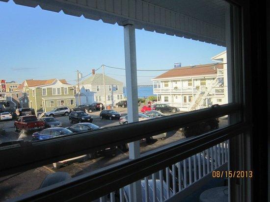 Normandie Oceanfront Motor Inn: Vue du 2ème étage