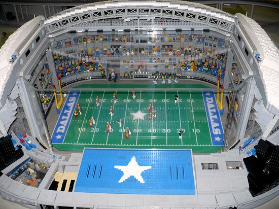 Legoland Discovery Center: Cowboys Stadium in Lego's