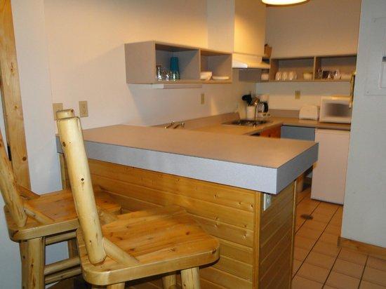 Douglas Lodge: Itasca Suites Kitchenette