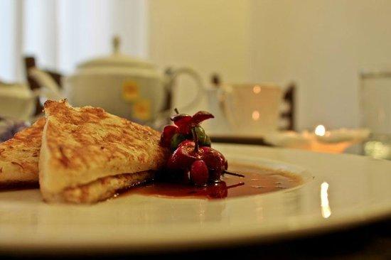 Castelo Kandy: Breakfast