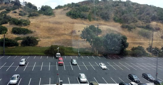 Courtyard San Diego Mission Valley/Hotel Circle: Ample parking - spots are plenty big, even the suv fits comfortably
