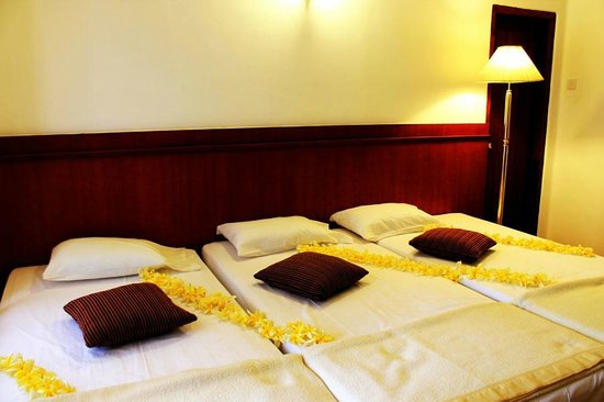 Castelo Kandy: Triple Room