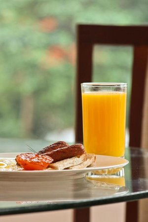 Castelo Kandy: Breakfast