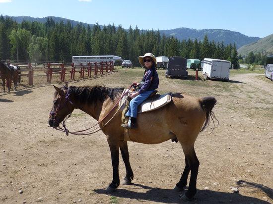 A-OK Corral / Horse Creek Ranch: Garrett on Dan