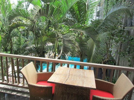 KajaNe Mua Private Villa & Mansion: ベランダからの眺め