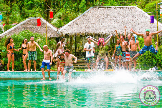 Boracay, Filipinas: Jungle Pool Party