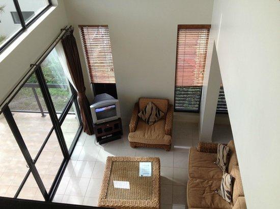 Dreamview Villas: Lounge room