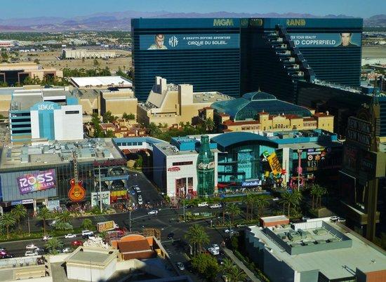 Monte Carlo Resort & Casino: Nice view from Room # 31313