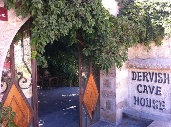 Dervish Cave House: the front door of this hotel!