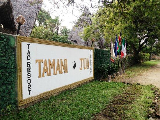 Tamani Jua Tao Resort: Welcome