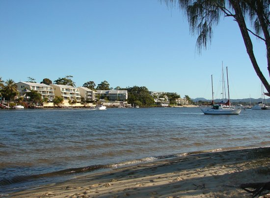 Looking at Noosa Shores Resort. Unit 11 on middle floor at right