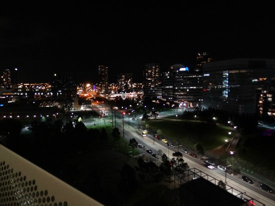 Night View From Balcony Picture Of Docklands Executive Apartments