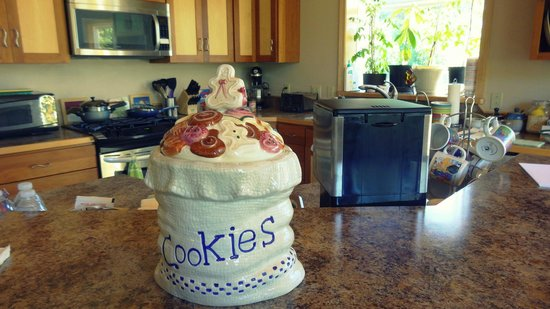 Glacier Creek Lodge : Cookie Jar! :)