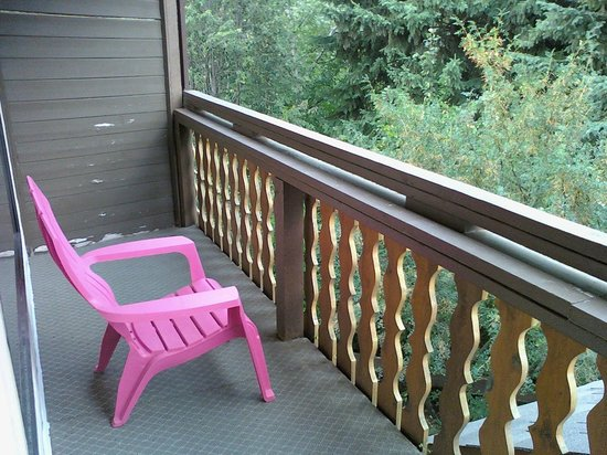 Chalet Continental Motel: Room Balcony