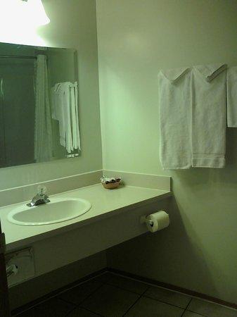 Chalet Continental Motel: Bathroom Vanity