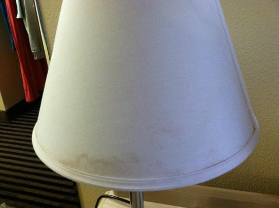 Rodeway Inn: gross lampshade