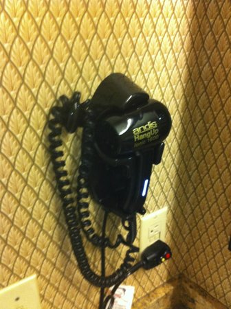 Homewood Suites by Hilton San Jose Airport-Silicon Valley: cool little hair dryer with built in night light