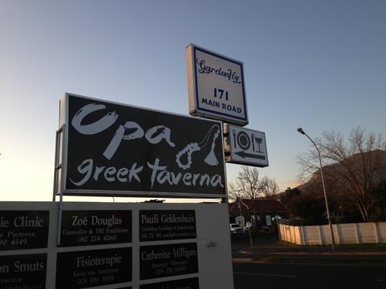 Opa Greek Taverna: OPA