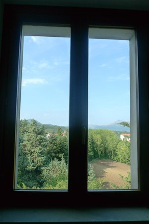Bed and Breakfast I Coste: panorama dalle scale del bed