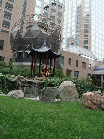 Ascott Beijing: in the garden
