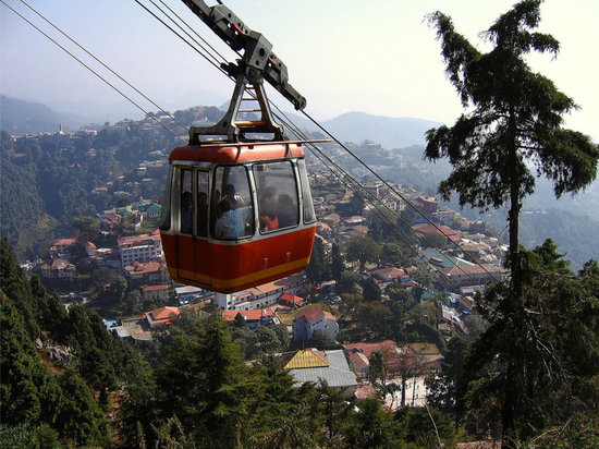 Country Inn, Mussoorie: Cable Car