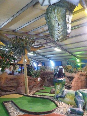 King Tutt's Putt Putt Mini Golf: Jurassic Course