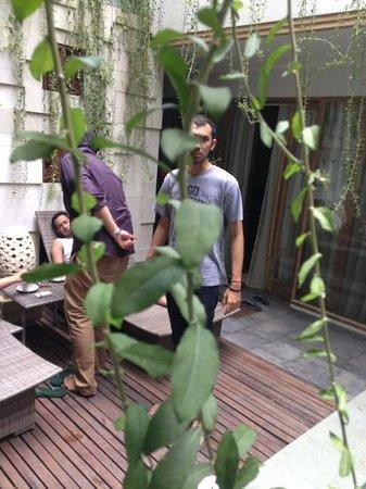The Sakran Bali Resort: this is the sakran in the pool section