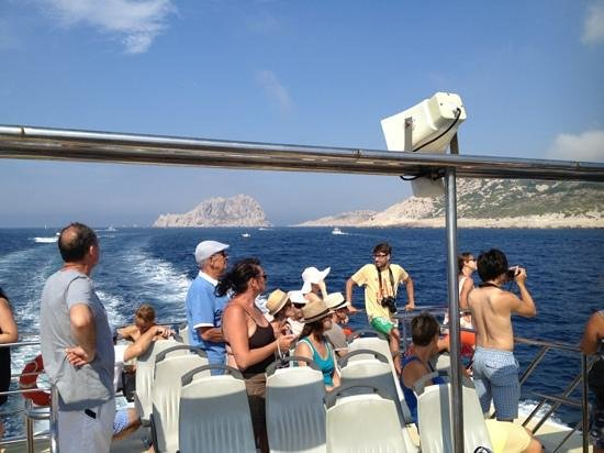 Icard Maritime: going to the calanques