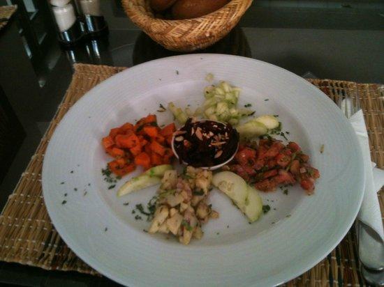 Les Borjs de la Kasbah: The Moroccan salad I prepared