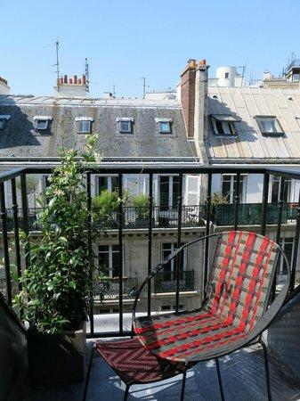 Hotel Signature St Germain des Pres: Balcon de la Chambre Privilège