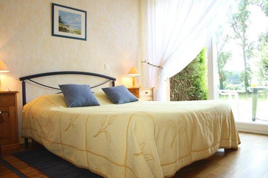 Ferme de Rosembois : La chambre jaune