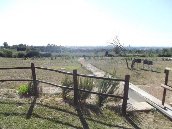 Villa Liburnia: panorama dal giardinetto privato