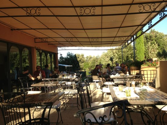 Hotel Le Gardon : Terasse