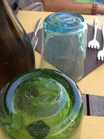 Ristoteca Oniga: particolare del tavolo