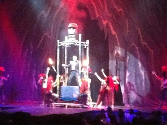 Magic of Polynesia: show