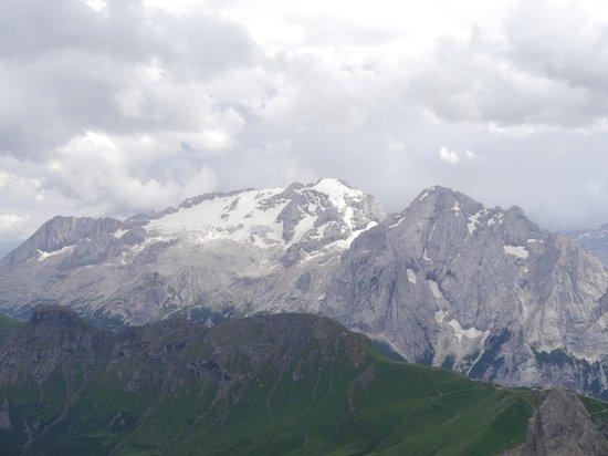 Panorama - Picture of La Terrazza delle Dolomiti, Canazei ...