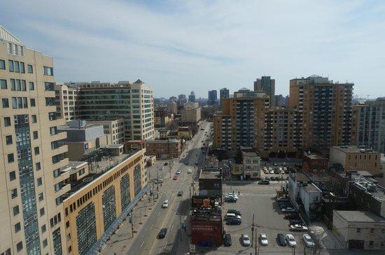 Bond Place Hotel: vue de la chambre