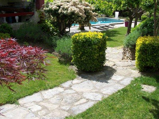La Bastide des Muriers : jardin