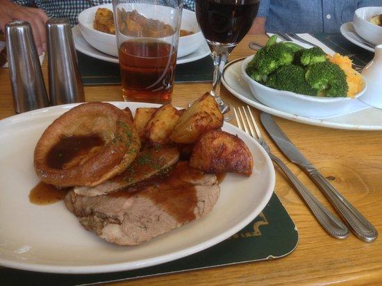 Ashburton Arms: Sunday roast