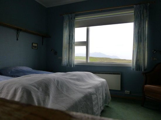 Ensku Husin Guesthouse : Our quaint blue bedroom