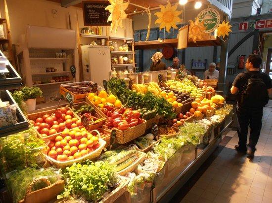 Kauppahalli: Variedad de productos