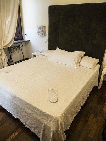 Hotel Aquila Bianca: La stanza