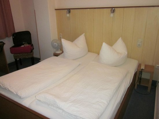Hotel Stadt Lubeck: camera da letto
