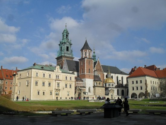 Hotel Astoria: Krakow's Royal Palace and grounds and citadel
